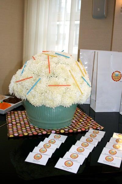 Oversized Cupcake