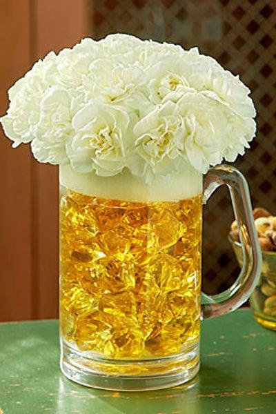 Beer Mug of Blooms from 1-800-FLOWERS.COM