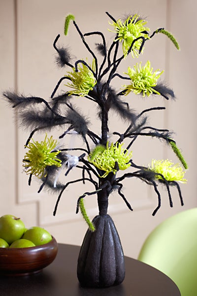Spooky Spider Tree Centerpiece