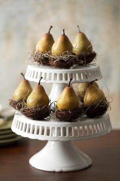 Pear Nest Favor