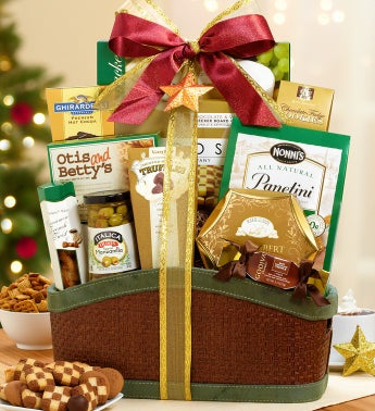 Winter Wishes Gourmet Gift Basket