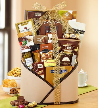 Modern Elegance Chocolates and More! Gift Basket