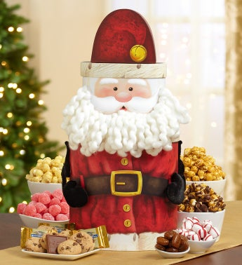 Holiday Cheer Jingle Santa Sweets Tower