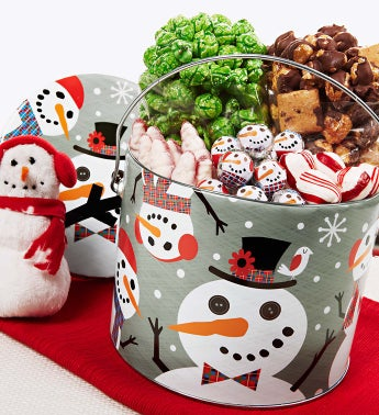 The Popcorn Factory® Snowtime Fun Pail