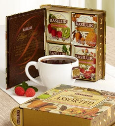 Premium Collection of Black Teas with Fruits