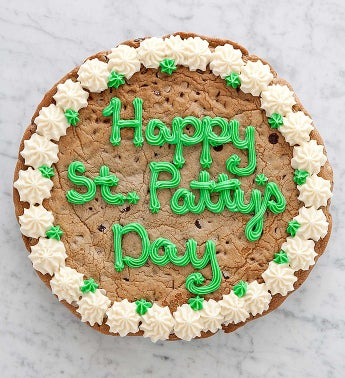 Cheryl's St Patricks Day Choc Chip Party Cookie