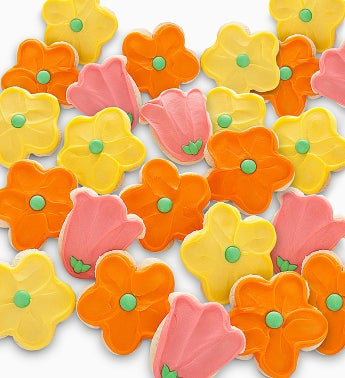 Cheryl's Frosted Flower Cutout Cookies