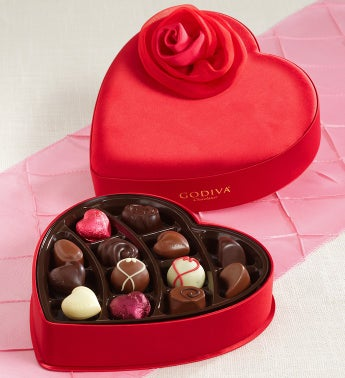 Godiva® Fabric Heart Box