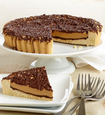 Decadent Peanut Butter Cup Cookie Pie