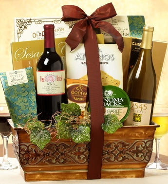 Vintage Cellars Wine Gift Basket