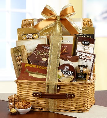 Bountiful Gourmet Hamper Gift Basket