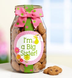 Im a Big Sister Chocolate Chip Cookie Jar