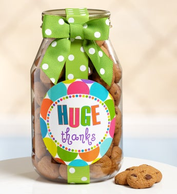 HUGE Thanks Chocolate Chip Cookie Jar