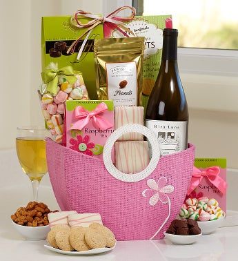 Mom's Wine Escape Basket