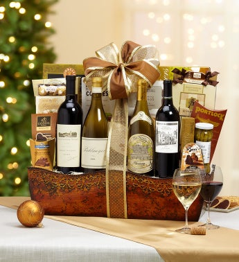 The Wine Connoisseur Gift Basket