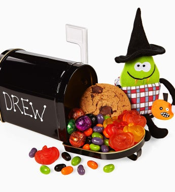 The Popcorn Factory Halloween Mailbox