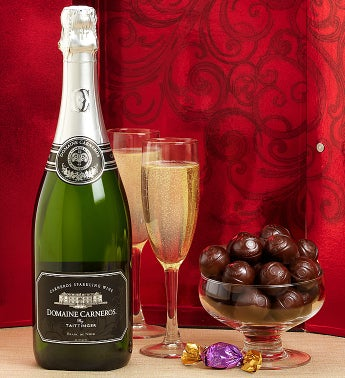 Taittinger® Domaine Carneros Wine & Godiva®