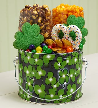 The Popcorn Factory® Shamrock Treat Pail