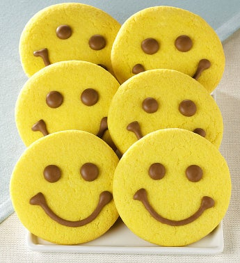 Happy Face Cookies Set of 6
