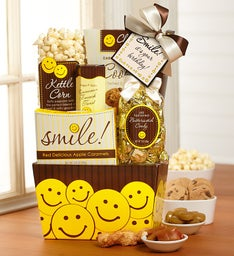 Smile It's Your Birthday Gift Basket