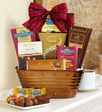 Premier Chocolates Basket