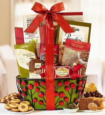 All That Glitters Gourmet Gift Basket