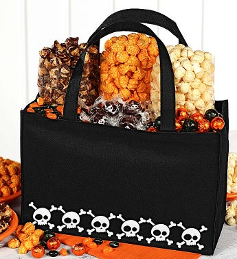 The Popcorn Factory® Skulls Tote Bag