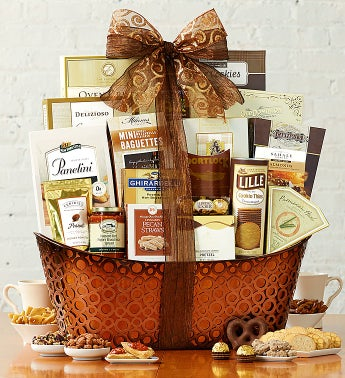 Grand Delights Sweet & Savory Gift Basket