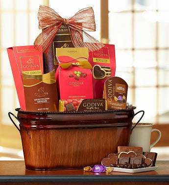 Godiva Be My Valentine Chocolate Basket