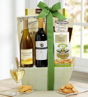 Thoughts of Spring Wine & Gourmet Gift Basket