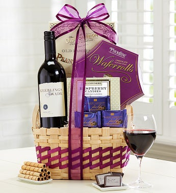 Wine Escape Gift Basket