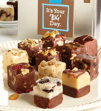 Its Your BIG Day Gourmet Fudge Tin
