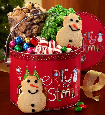 The Popcorn Factory® Merry Christmas Fun Pail