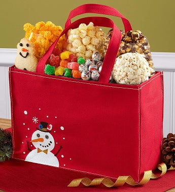 The Popcorn Factory® Snowtime Treat Tote