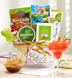 Birthday Fiesta Gift Basket