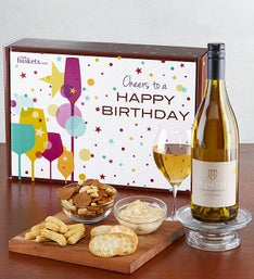 White Wine Birthday Box