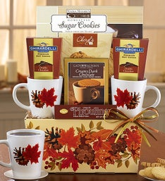 Autumn Leaves Cocoa & Mug Gift Set