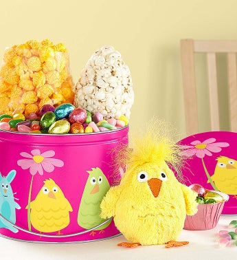 Popcorn Easter Friends Fun Pail