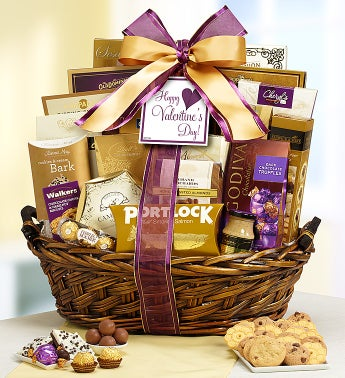 Be My Valentine Grand Gourmet Gift Basket