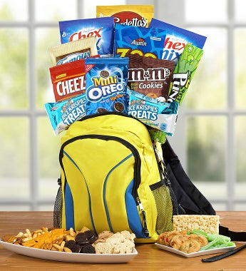 Back to School Backpack with Treats