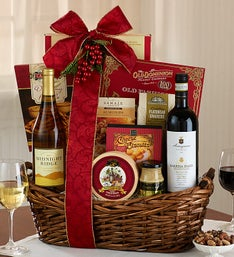 The Wine Gourmet Grande Gathering Basket
