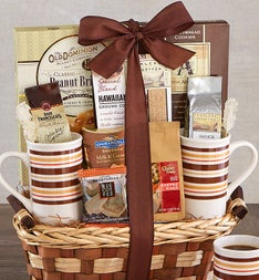 Great Perks® Barista Coffee Gift Basket