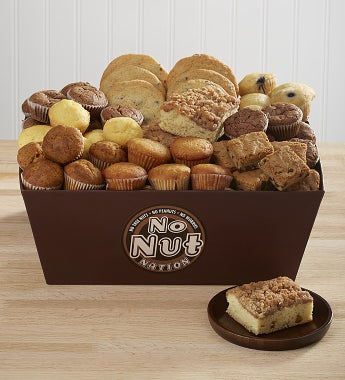 No Nut Nation Nut Free Gourmet Bakery Gift Basket