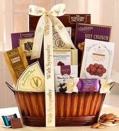 Thoughts of Comfort Sympathy Gift Basket