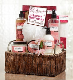 She's Fabulous! Happy Birthday Spa Basket