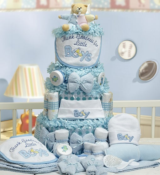 Grand Baby-Cakes Boy Essentials