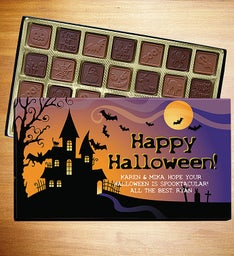 Happy Halloween Personalized Chocolate Box