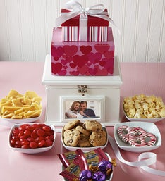 Love & Sweets Tower with Keepsake Box