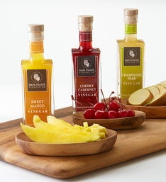 Napa Valley All Natural Fruit Infused Vinegar Set