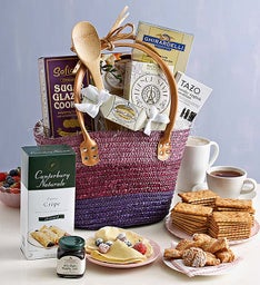 Berry Brunch Basket Tote